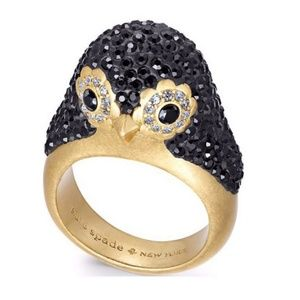 Kate♠️Spade 🐧Dashing Beauty Penguin Ring